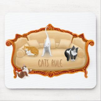 Cats Rule Mousepad