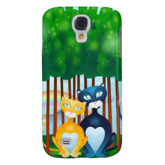 Cats Samsung Galaxy S4 Cover