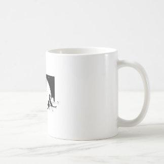 Cats Silhouette Coffee Mugs