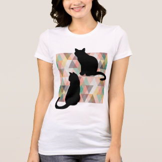 Cats silhouette T-Shirt