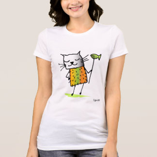 Cats T-shirt for ladies