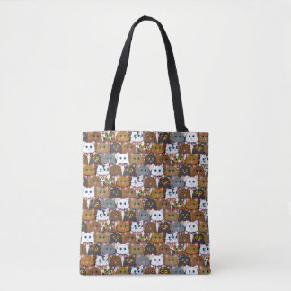 Cats! Tote Bag