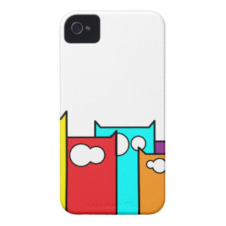 cats town Case-Mate iPhone 4 case