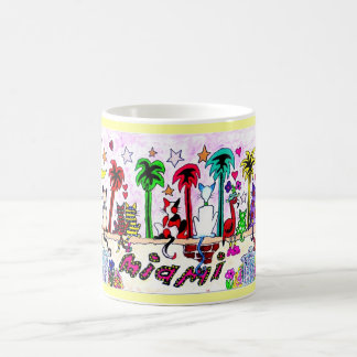 Cats under Miami Moon... Coffee Mug