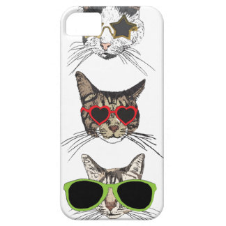 Cats Wearing Sunglasses Case For The iPhone 5