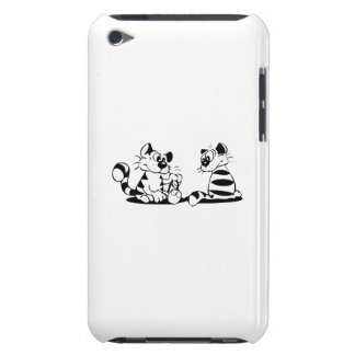 Cats with a Computer Mouse iPod Touch Covers