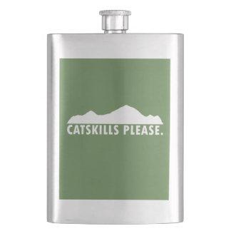 Catskills Please Hip Flask