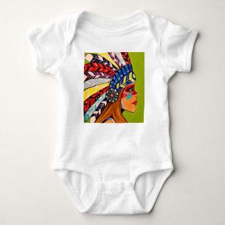 Cattail Kali Baby Bodysuit