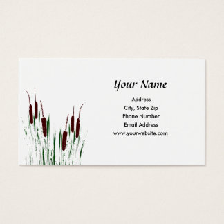 Cattails Business Card
