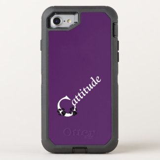 Cattitude OtterBox Defender iPhone 8/7 Case