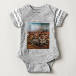 Cattle Baby Bodysuit