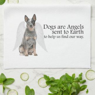 Cattle Dog Angel Kitchen Towel