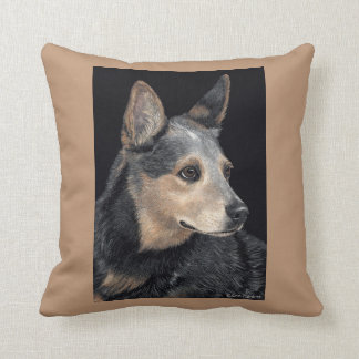 "Cattle Dog Pillow - ""Quigley"""