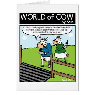 Cattle Grid Field Card