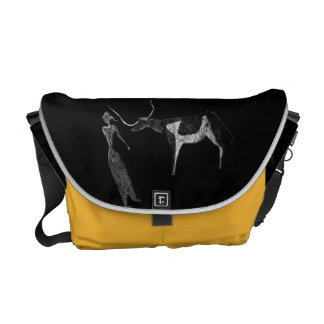 Cattle in Prehistoric Life Courier Bags