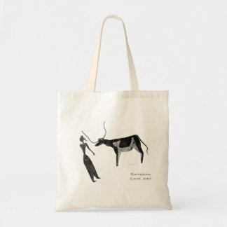 Cattle in Prehistoric Life Budget Tote Bag