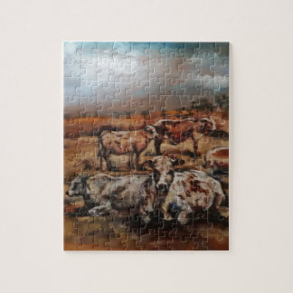 Cattle Jigsaw Puzzle