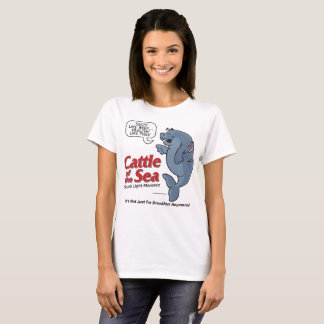 Cattle of the Sea - Max Manatee - Women's T-Shirt