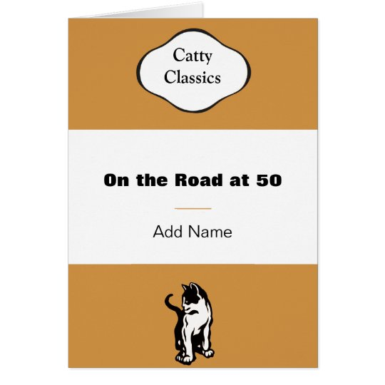 Catty Book Classic greeting cards