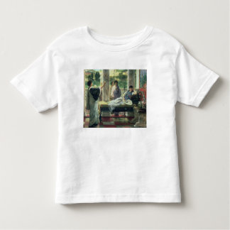 Catullus Reading his Poems at Lesbia's House, 1870 Toddler T-Shirt