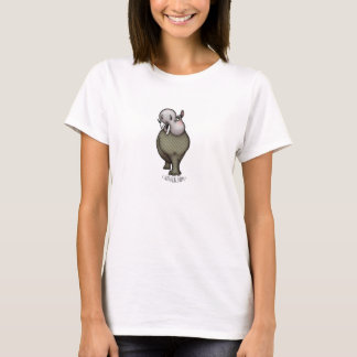 Catwalk Hippo Madame Vuitton T-Shirt