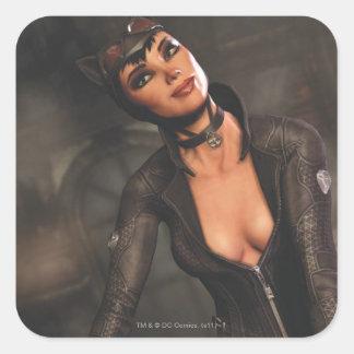 Catwoman 1 square sticker