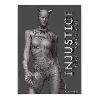 Catwoman Alternate 13 Cm X 18 Cm Invitation Card