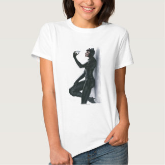 Catwoman Illustration T-shirt