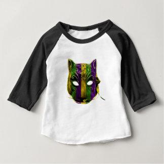 Catwoman Mardi Gras Mask Baby T-Shirt