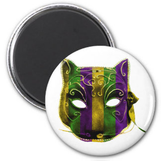 Catwoman Mardi Gras Mask Magnet