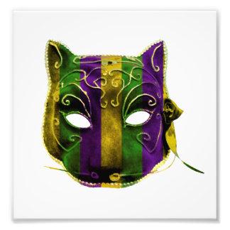 Catwoman Mardi Gras Mask Photo Print
