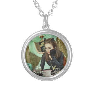 Catwoman Silver Plated Necklace