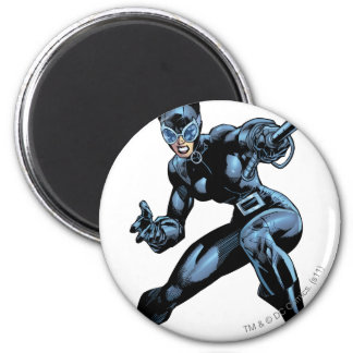 Catwoman with Whip 6 Cm Round Magnet