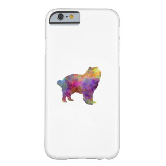 Caucasian Shepherd Dog in watercolor Barely There iPhone 6 Case