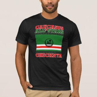 Caucasus Al Chechnya Stars T-Shirt