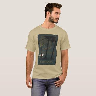 CAUCASUS vintage picture. T-Shirt