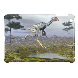 Caudipteryx dinosaur - 3D render iPad Mini Covers
