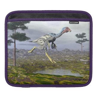 Caudipteryx dinosaur - 3D render iPad Sleeve