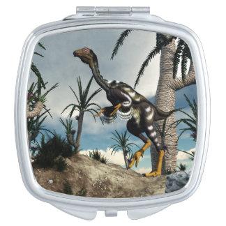 Caudipteryx dinosaur - 3D render Vanity Mirrors