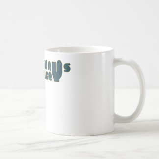 Caught in the act MUG