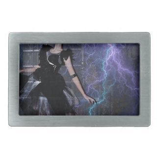 CAUGHT IN THE STORM BELT BUCKLE