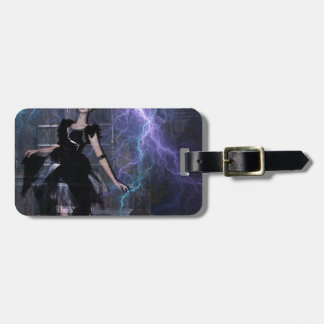 CAUGHT IN THE STORM LUGGAGE TAG