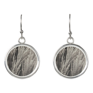 Caught in Wind (Platinum) Earrings