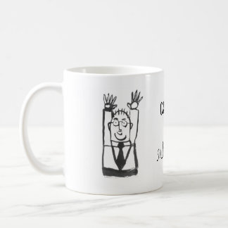 caught...so tickle me basic white mug