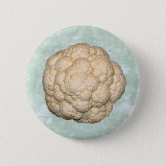cauiflower in the sky 6 cm round badge