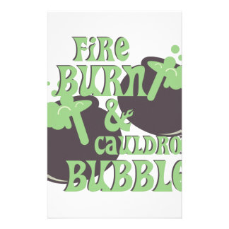 Cauldrom Bubble Stationery