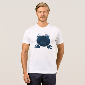 Cauldron and cat skulls T-Shirt