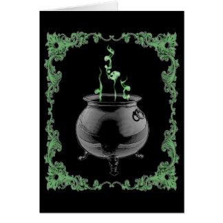 Cauldron - Card (Customize)