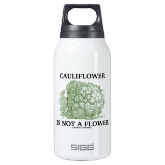 Cauliflower Is Not A Flower (Food For Thought) 0.3L Insulated SIGG Thermos Water Bottle