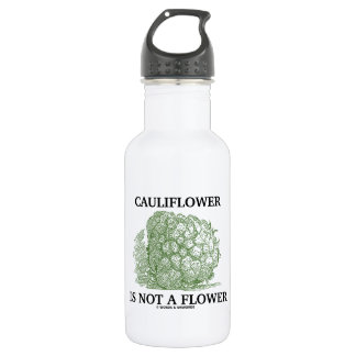 Cauliflower Is Not A Flower (Food For Thought) 532 Ml Water Bottle